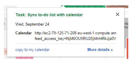 Calendar Help Guide