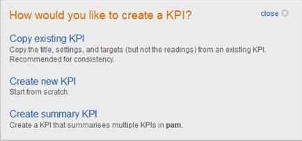 KPI-setup